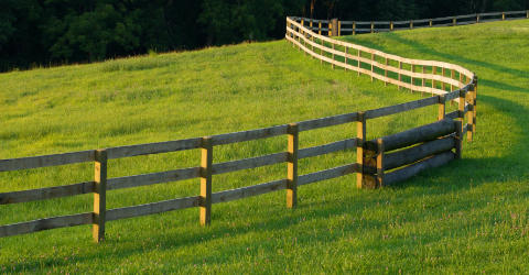 Farm yard fencing