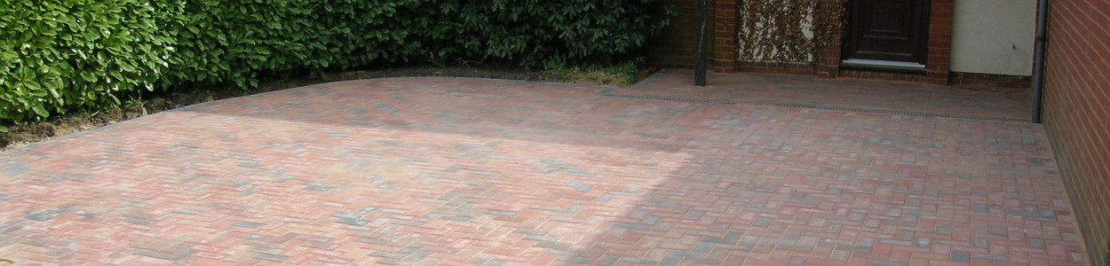 25 years experience laying driveways throughout the local area
