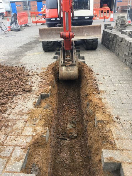 Electric Cable And Duct Trenching South Northampton