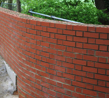 Constructed Wall Brickwork